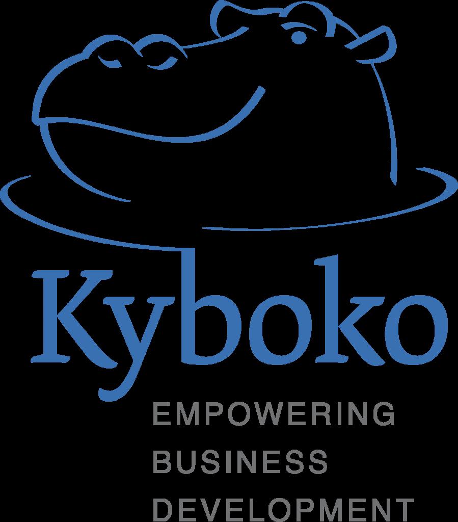 Kyboko full logo staand